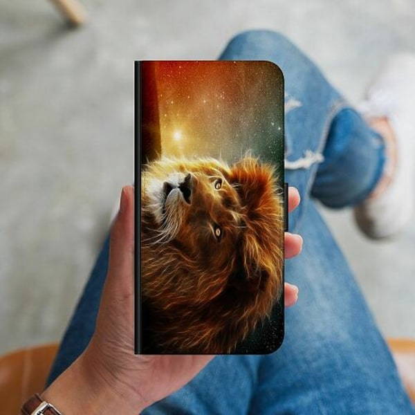 OnePlus Nord N100 Plånboksskal Lejon