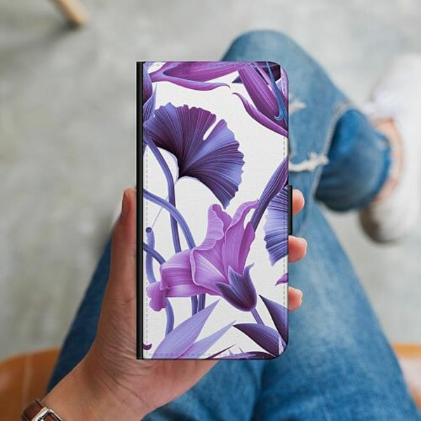 Samsung Galaxy A12 Plånboksskal Lilac Bloom