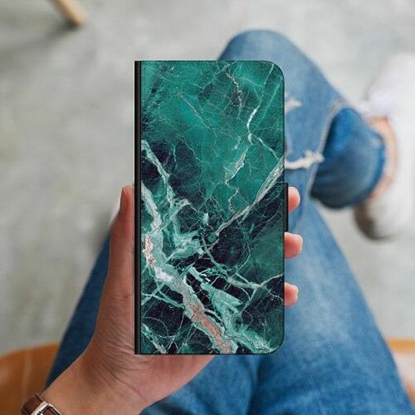 Huawei P40 Lite Plånboksskal Marmor