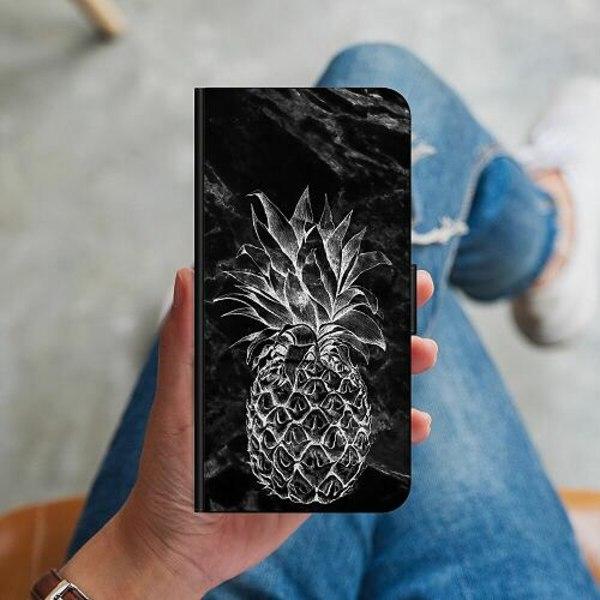 Samsung Galaxy A51 Plånboksskal Marmor Ananas