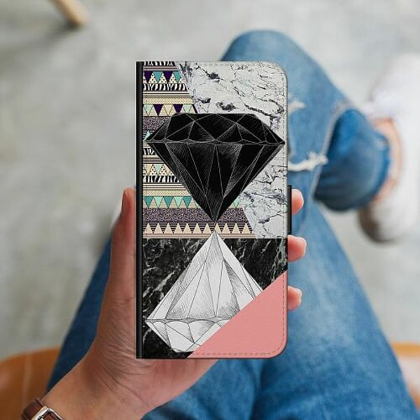 Samsung Galaxy A41 Plånboksskal Mönster
