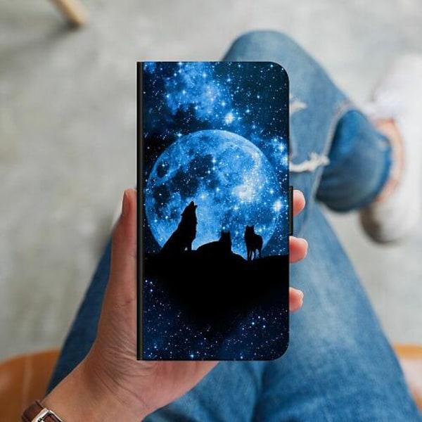 Apple iPhone 12 mini Plånboksskal Moon Wolves