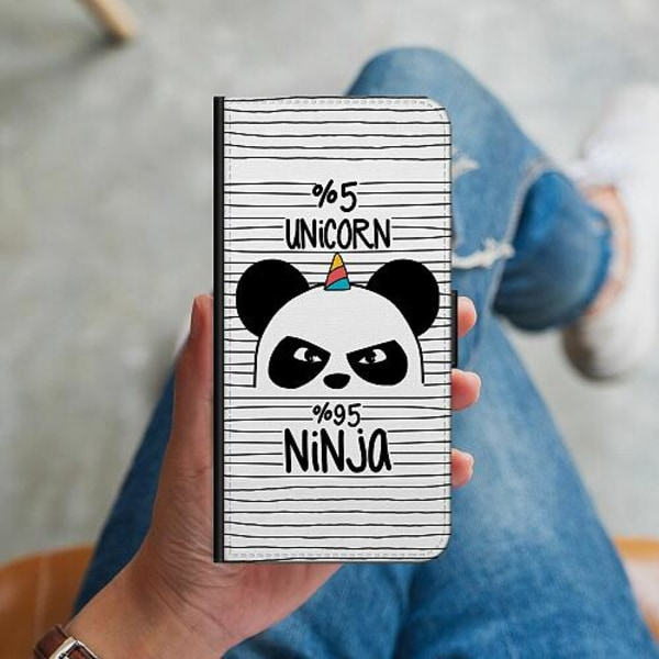 Samsung Galaxy Note 9 Plånboksskal Ninja Panda With A Twist