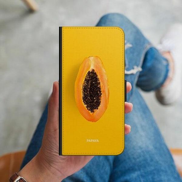 Apple iPhone 12 mini Plånboksskal Papaya