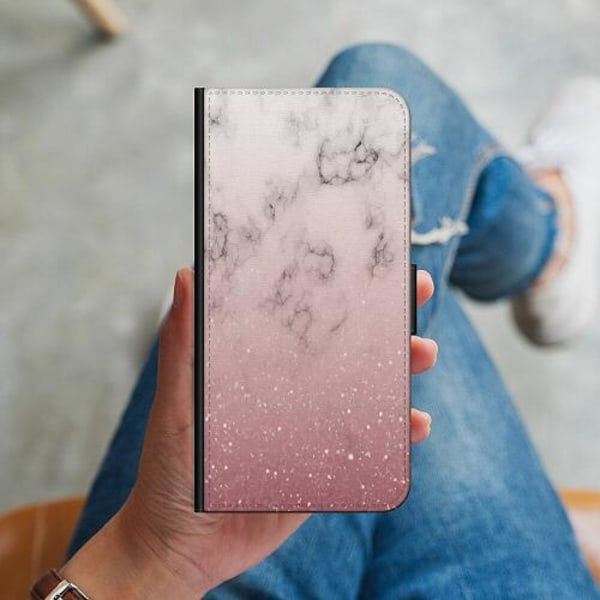 Samsung Galaxy A51 Plånboksskal Soft Pink Marble