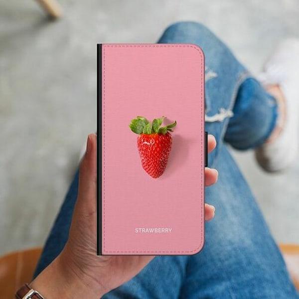 Samsung Galaxy Note 9 Plånboksskal Strawberry