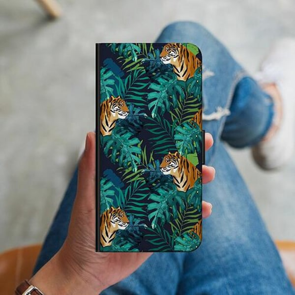 Samsung Galaxy A41 Plånboksskal Tiger