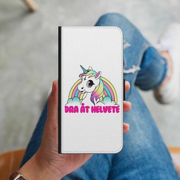 Apple iPhone 12 mini Plånboksskal Unicorn - Dra Åt @!#