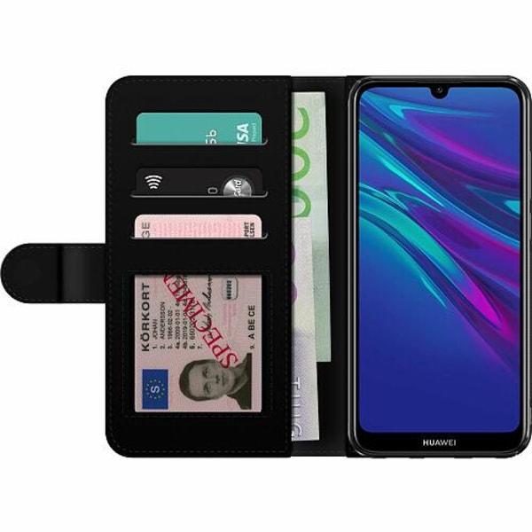 Huawei Y6 (2019) Billigt Fodral Blommor