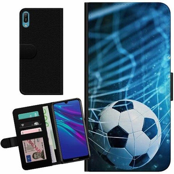 Huawei Y6 (2019) Billigt Fodral Fotboll
