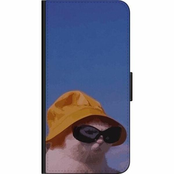 Samsung Galaxy A21s Billigt Fodral Say What, Cat