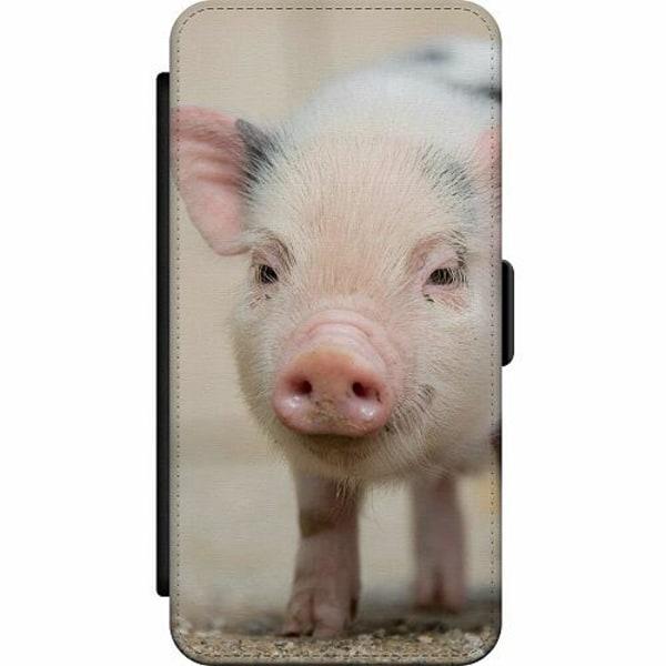 Huawei Y6 (2019) Skalväska Happy Pig