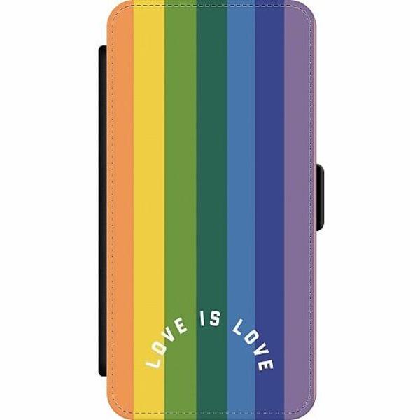 Huawei Y6 (2019) Wallet Slim Case Love is Love - Pride