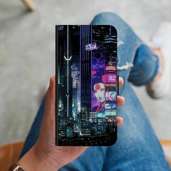 Huawei Y6s (2019) Plånboksskal Cyberpunk 2077