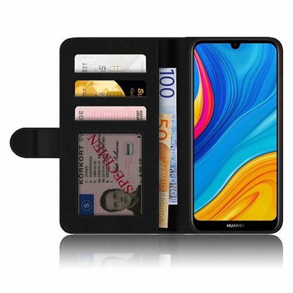 Huawei Y6s (2019) Plånboksskal Gold & Glitter
