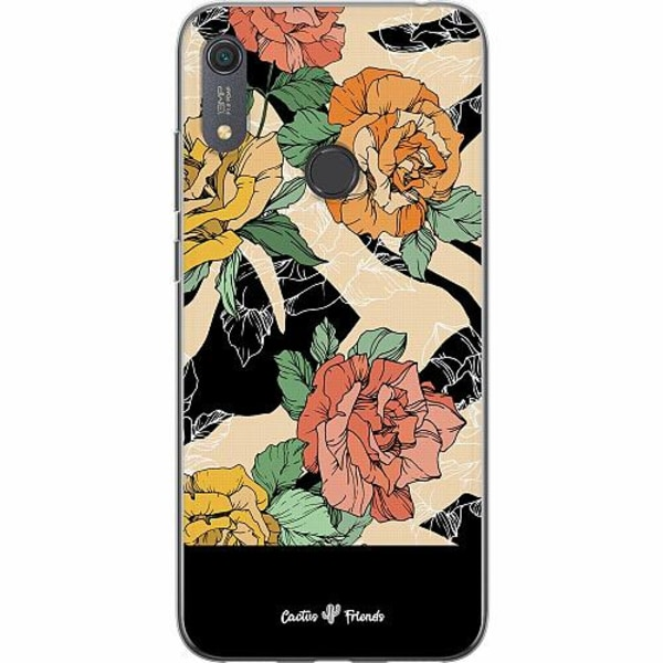 Huawei Y6s (2019) Mjukt skal - Animal Blossom Split