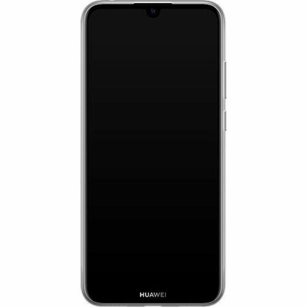 Huawei Y6s (2019) Mjukt skal - Cat in the Sun
