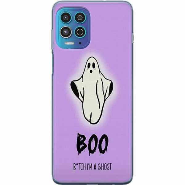 Motorola Moto G100 Thin Case Boo