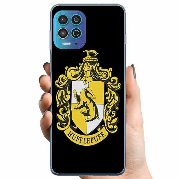 Motorola Moto G100 TPU Mobilskal Harry Potter - Hufflepuff