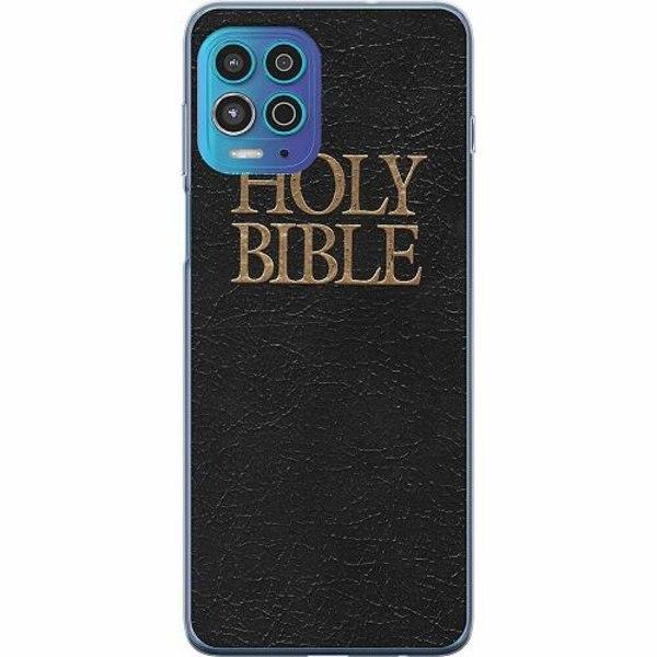 Motorola Moto G100 TPU Mobilskal Holy Bible