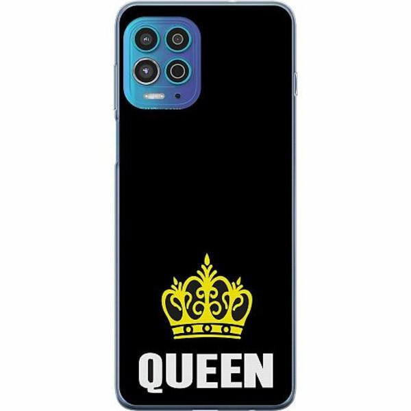 Motorola Moto G100 TPU Mobilskal Queen 01
