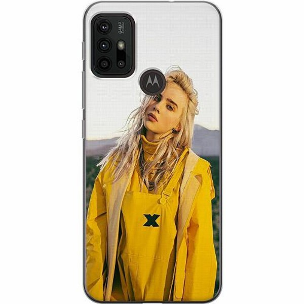 Motorola Moto G30 Thin Case Billie Eilish 2021