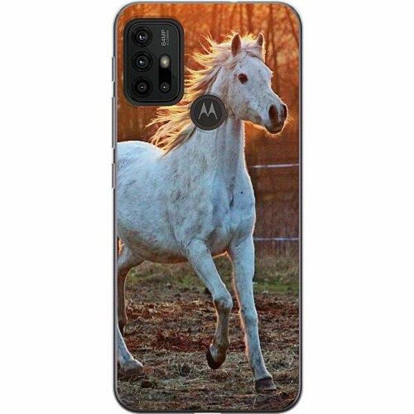 Motorola Moto G30 Thin Case Häst / Horse