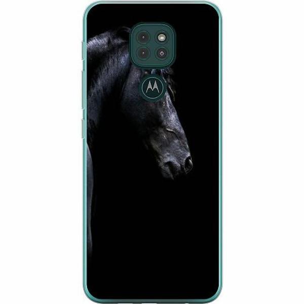 Motorola Moto G9 Play Thin Case Häst / Horse