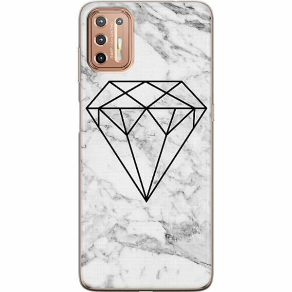 Motorola Moto G9 Plus Mjukt skal - Diamant