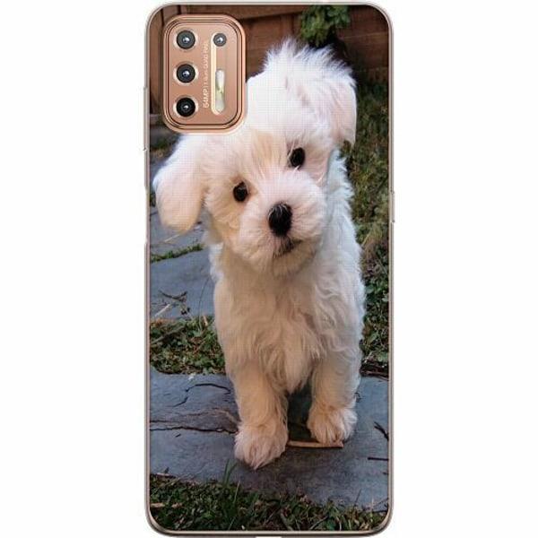 Motorola Moto G9 Plus Mjukt skal - Hund