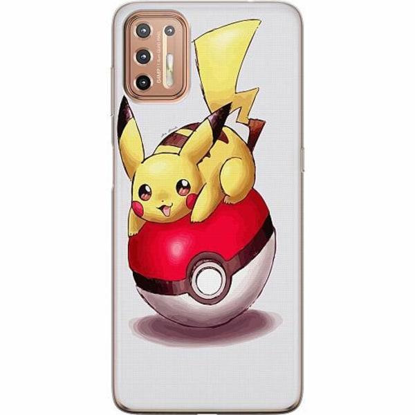 Motorola Moto G9 Plus Mjukt skal - Pokemon