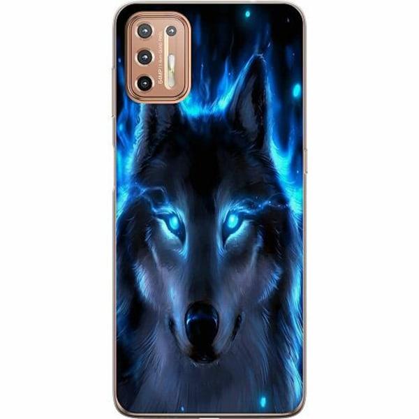 Motorola Moto G9 Plus Mjukt skal - Wolf