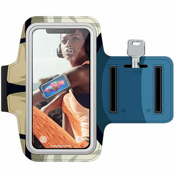 Samsung Galaxy Note 10 Träningsarmband / Sportarmband -  Pattern