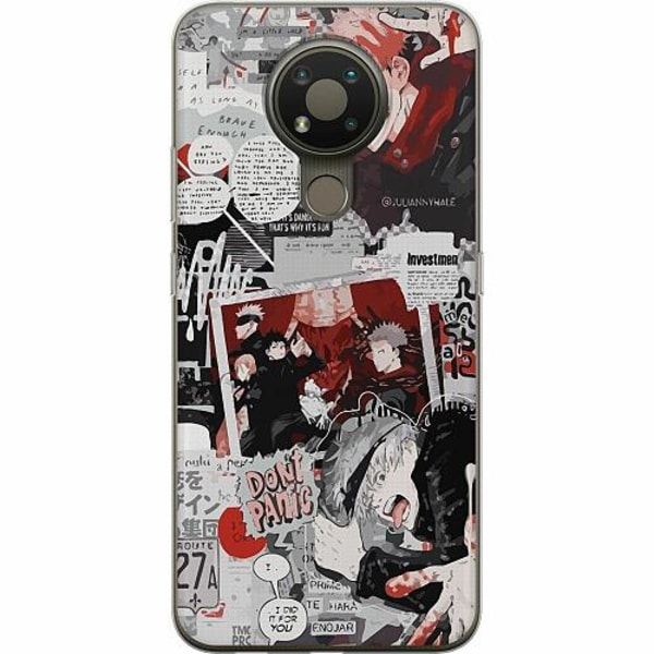 Nokia 3.4 TPU Mobilskal Jujutsu Kaisen