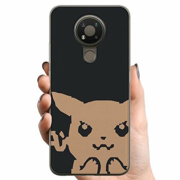 Nokia 3.4 TPU Mobilskal Pixel art Pokémon