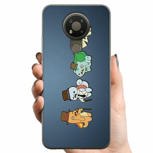 Nokia 3.4 TPU Mobilskal Pokemon