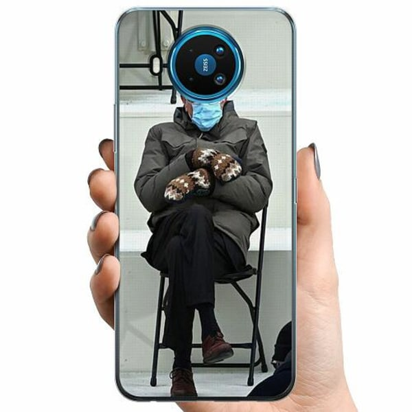 Nokia 8.3 TPU Mobilskal Bernie Sanders Meme