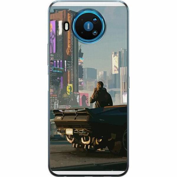 Nokia 8.3 TPU Mobilskal Cyberpunk 2077