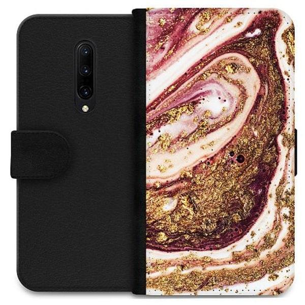 OnePlus 7 Pro Wallet Case Golden Honey