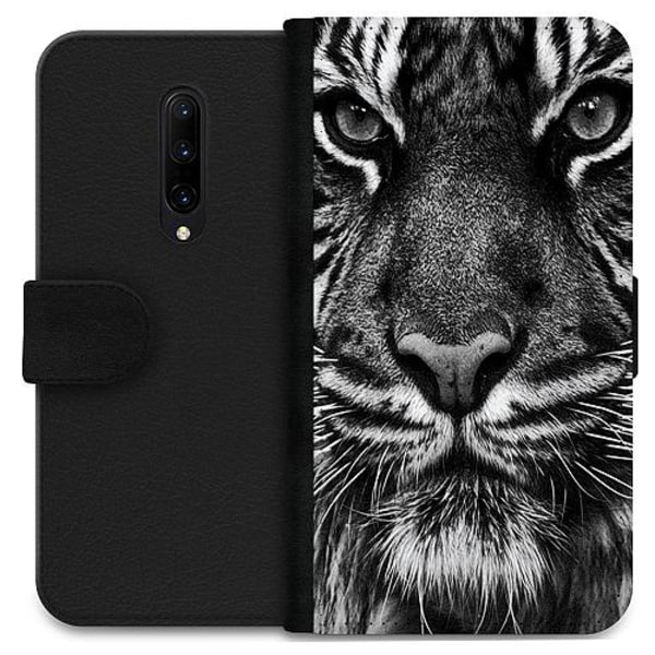 OnePlus 7 Pro Wallet Case Tiger