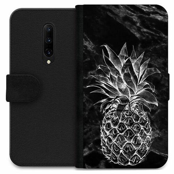 OnePlus 7 Pro Wallet Case Marmor Ananas
