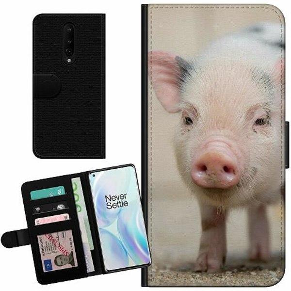 OnePlus 8 Billigt Fodral Happy Pig