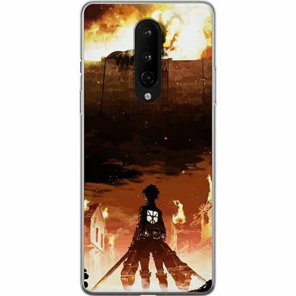 OnePlus 8 Mjukt skal - Attack On Titan