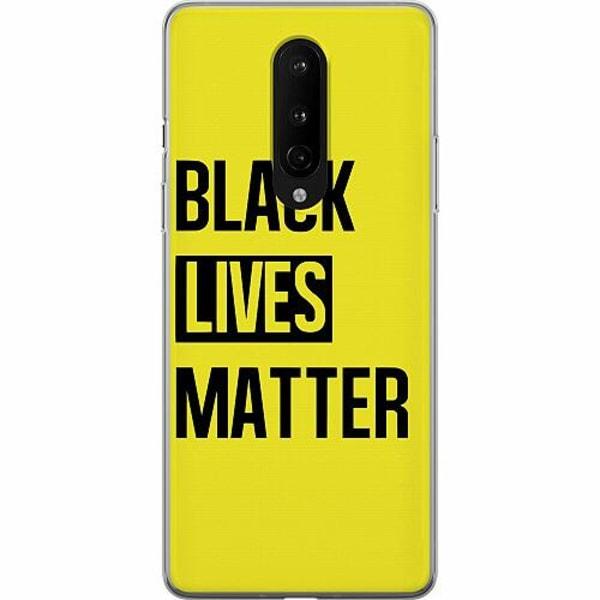 OnePlus 8 Mjukt skal - Black Lives Matter