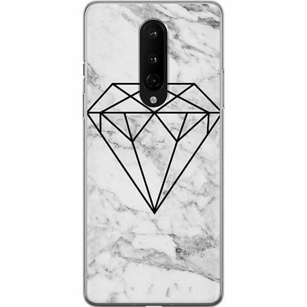 OnePlus 8 Mjukt skal - Diamant