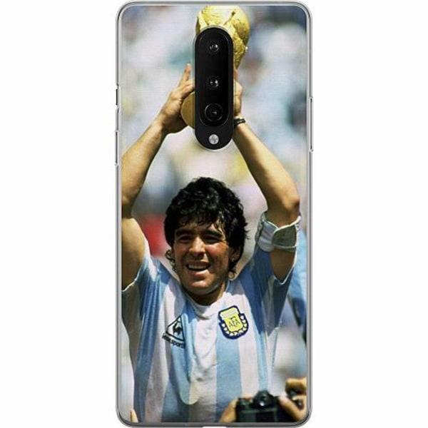 OnePlus 8 Mjukt skal - Diego Maradona