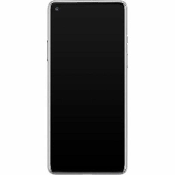 OnePlus 8 Mjukt skal - Purple Shrubs