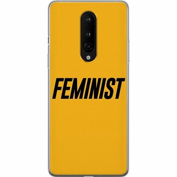 OnePlus 8 Mjukt skal - Feminist