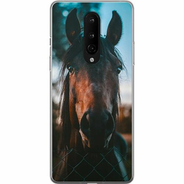 OnePlus 8 Mjukt skal - Häst / Horse