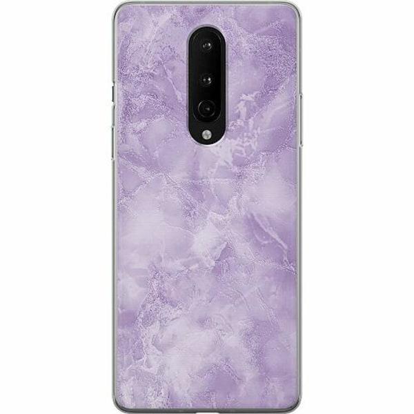 OnePlus 8 Mjukt skal - Marmor